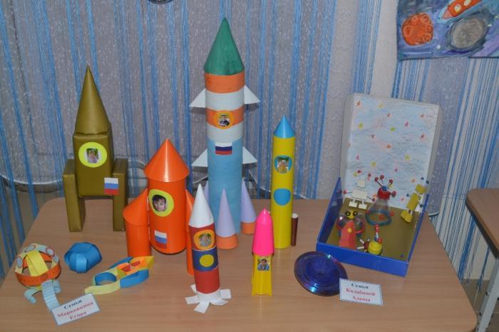 Макет ракеты своими руками 443